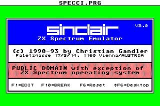 Sinclair ZX Spectrum Emulator